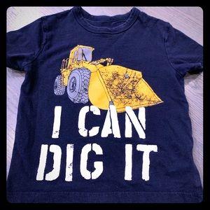 Baby Gap cute Digger T-shirt